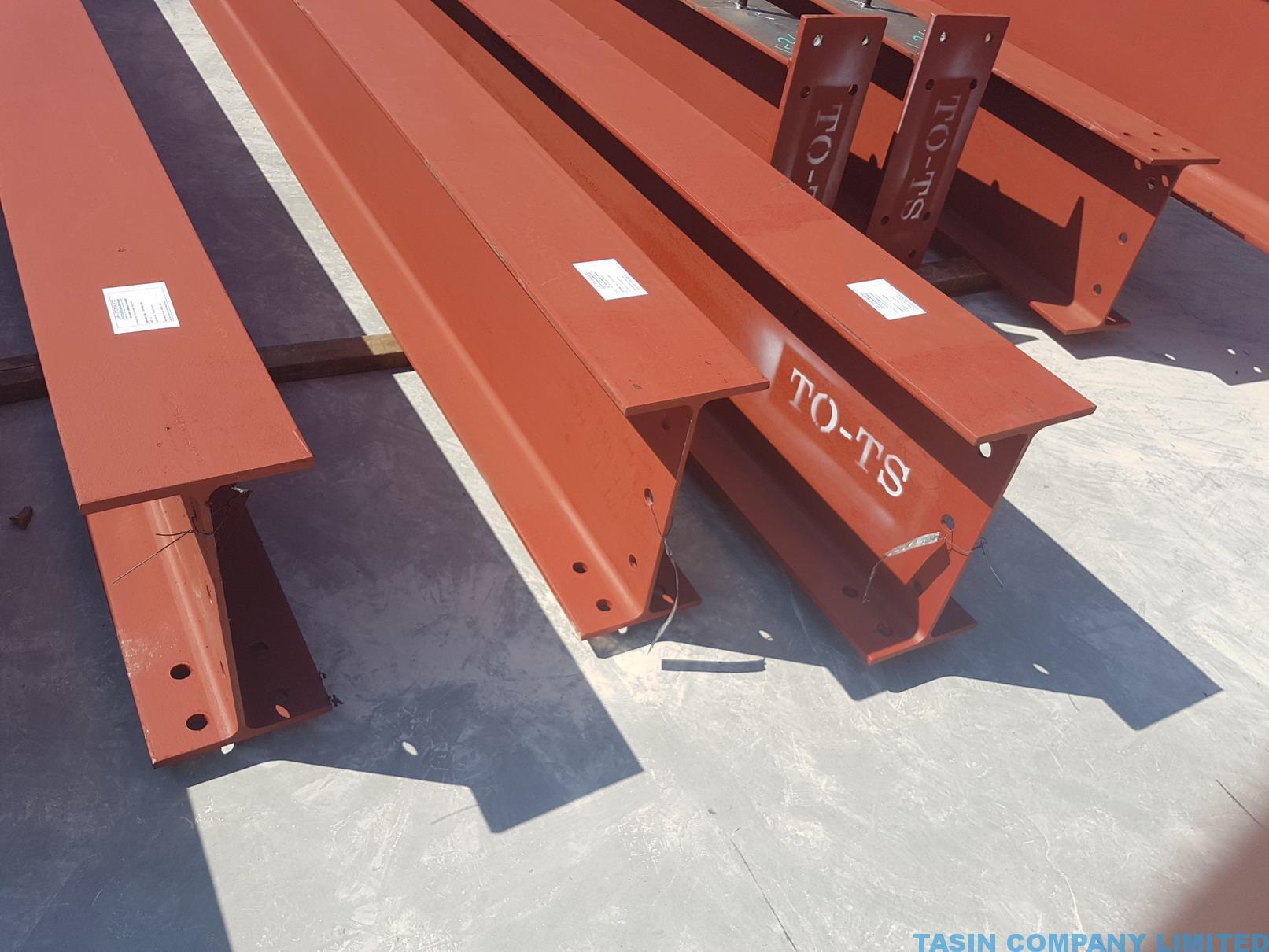 TU Carpark Steel TASIN 13 – Thailand Construction Contractor